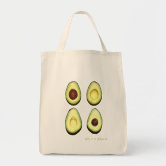 Joy the Baker Avocado Grocery Tote Grocery Tote Bag