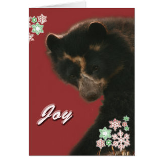 Joy to All from Bubu Greeting Card