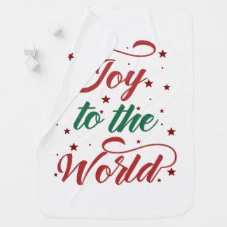 joy to the world Christmas Baby Blanket