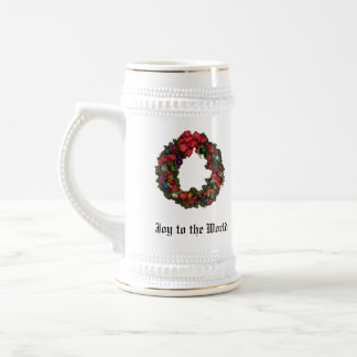 Joy to the World Christmas Holiday Stein Beer Steins