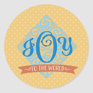 Joy to the World Christmas Seal