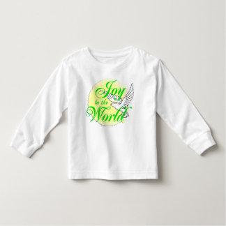 Joy to the World Christmas Toddler T-Shirt