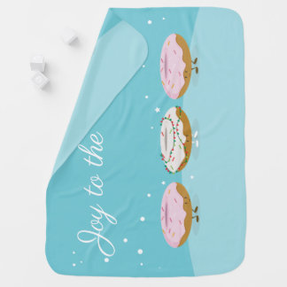 Joy to the World Donuts | Baby Blanket