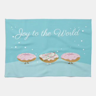 Joy to the World Donuts | Kitchen Towel