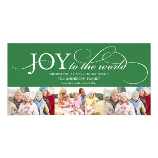 JOY TO THE WORLD | HOLIDAY PHOTO CARD
