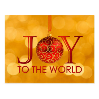 Joy to the World Postcard