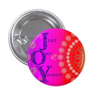 JOY Vibrant 3 Cm Round Badge