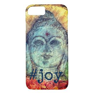 #Joy Zen Buddha Watercolor Art Phone Case