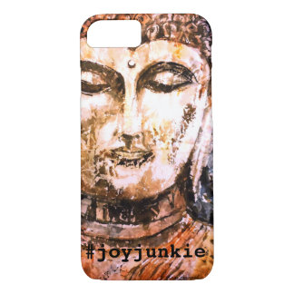 Joy Zen Buddha Watercolor Art Phone Case