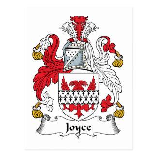 Joyce Family Crest Post Card