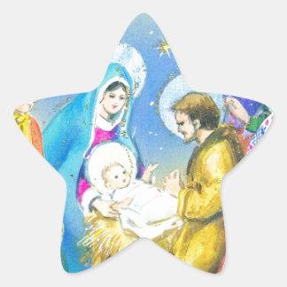 Joyeuse Noel, Vintage French Christmas Card Stickers