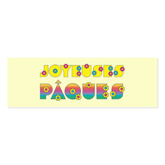 Joyeuses Pâques Business Cards