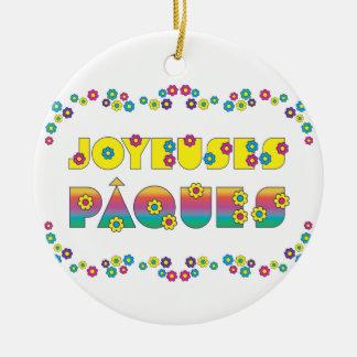 Joyeuses Pâques Christmas Tree Ornament