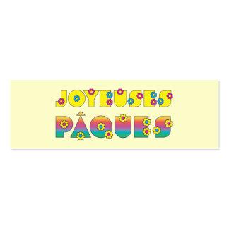 Joyeuses Pâques Pack Of Skinny Business Cards