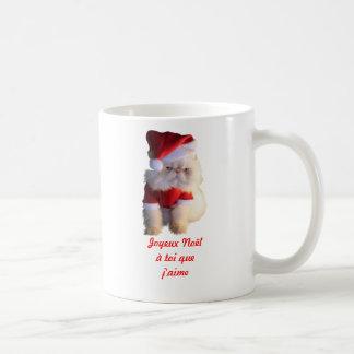 Joyeux Noël à toi que j aime Tasse À Café