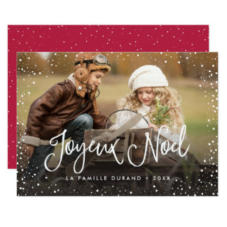Joyeux Noël | Carte de Noël 13 Cm X 18 Cm Invitation Card