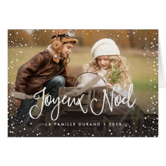 Joyeux Noël | Carte de Noël Greeting Card