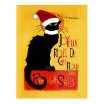 Joyeux Noël Du Chat Noir Postcards