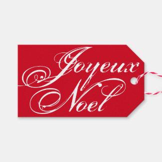 Joyeux Noel ~ Elegant Christmas Gift Tag