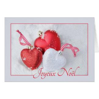 Joyeux Noël - French Christmas - Carte de Noël Card