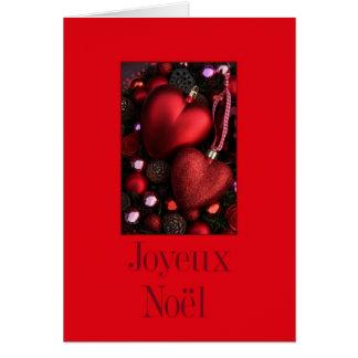 Joyeux Noël - French Christmas - Carte de Noël Greeting Card