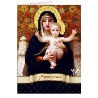 Joyeux Noël. French Fine Art Christmas Card