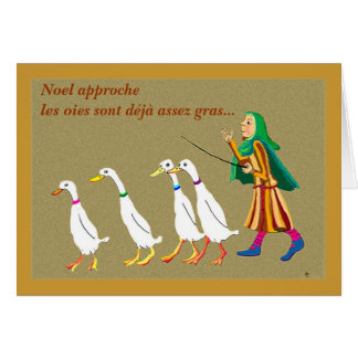 Joyeux Noel Greeting Card