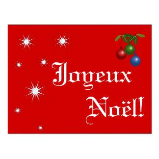 Joyeux Noël ~ Postcard
