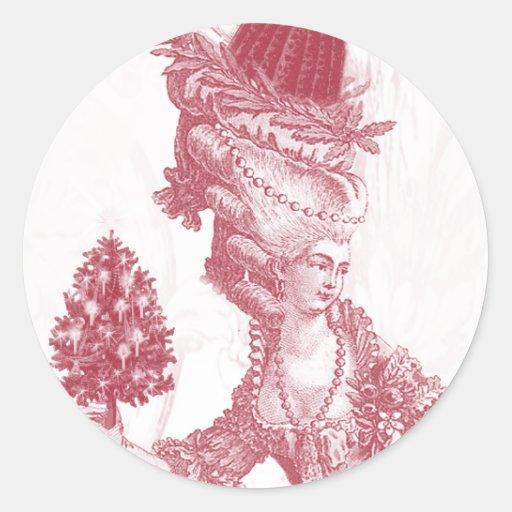 Joyeux Noel (rouge) Sticker