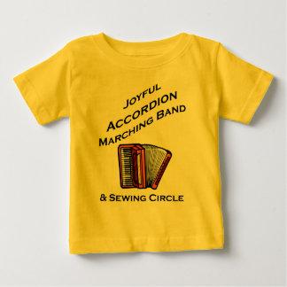 Joyful Accordion Marching Band Infant T-Shirt