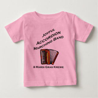 Joyful Accordion Marching Band Shirts