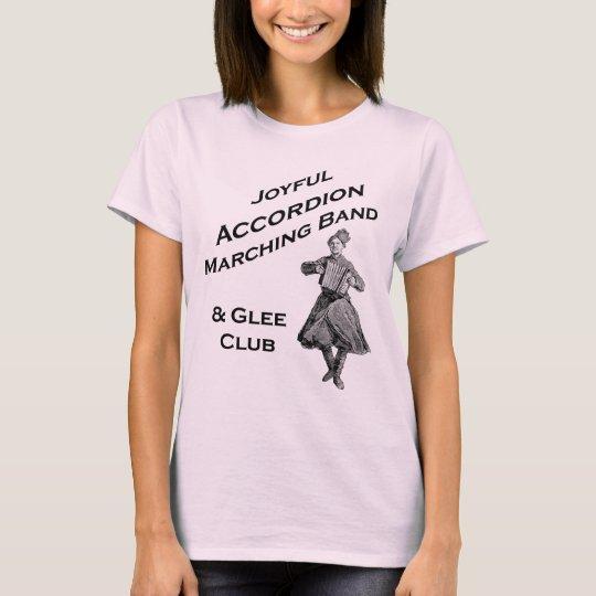 Joyful Accordion Marching Band T-Shirt