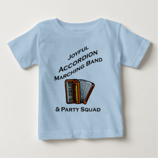 Joyful Accordion Marching Band Tee Shirt