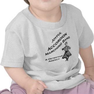 Joyful Accordion Marching Band T-shirts