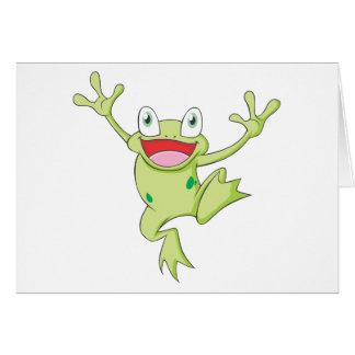 Joyful American Bullfrog Cards