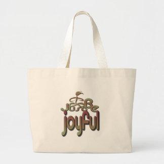 joyful canvas bags