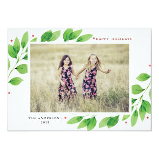 Joyful Branches Christmas Card
