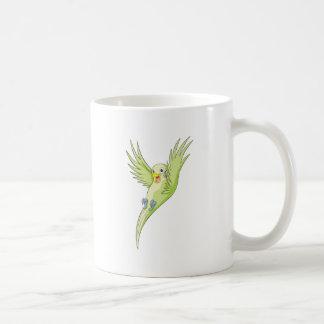 Joyful Budgerigar Budgie Coffee Mugs