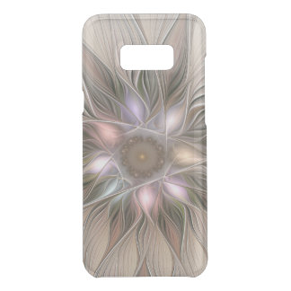 Joyful Flower Abstract Beige Brown Floral Fractal Uncommon Samsung Galaxy S8 Plus Case