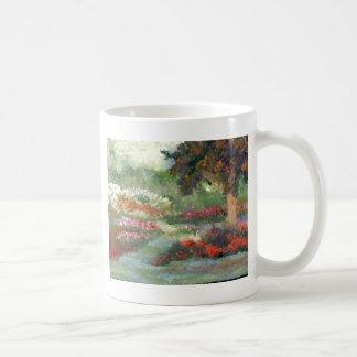 Joyful Gardens Impressionist Style Sunlit Flowers Mugs