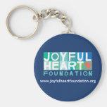 Joyful Heart Foundation Keychain