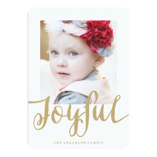 Joyful | Holiday Photo Card