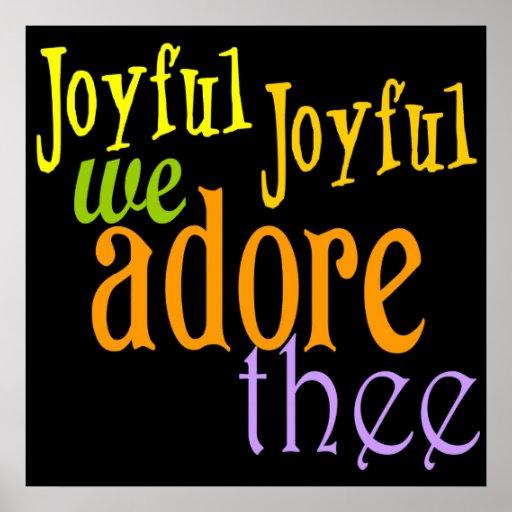 Joyful, Joyful Poster