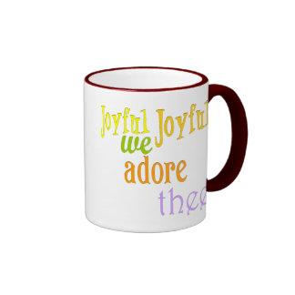 Joyful, Joyful Ringer Mug