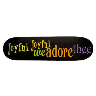 Joyful, Joyful Skateboard Decks