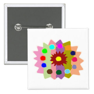 Joyful Kids Color Blasters n Sunflower Formations 15 Cm Square Badge