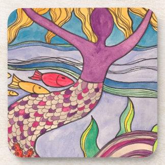 Joyful Mermaid Coaster