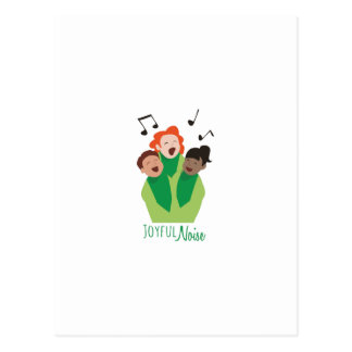 Joyful Noise Postcard