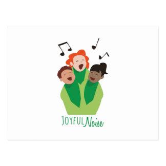 Joyful Noise Postcard