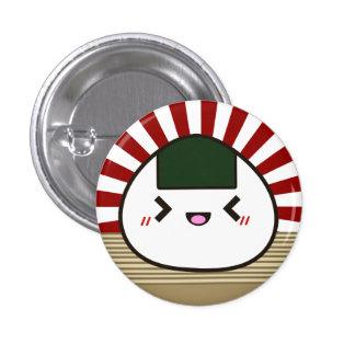 Joyful Onigiri 3 Cm Round Badge
